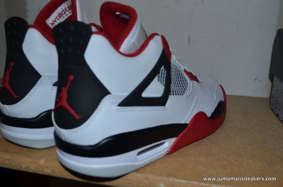 d42c7568a80731 Air Jordan 4 IV Retro Fire Red 2012 Cement 3 iii 4 iv 11 varsity on ...