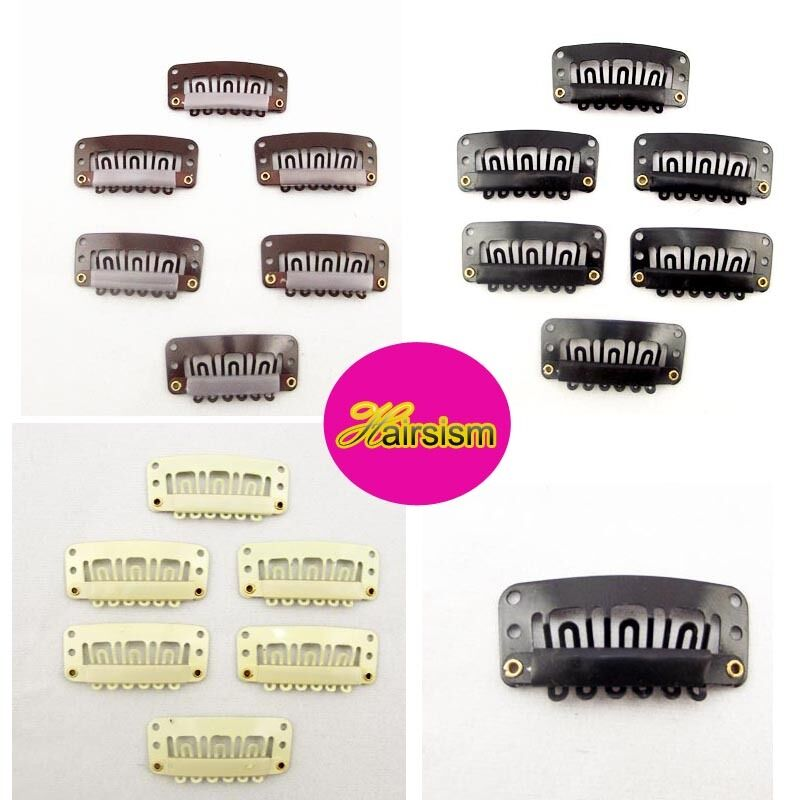 snap clips for hair extensions in Clothing,