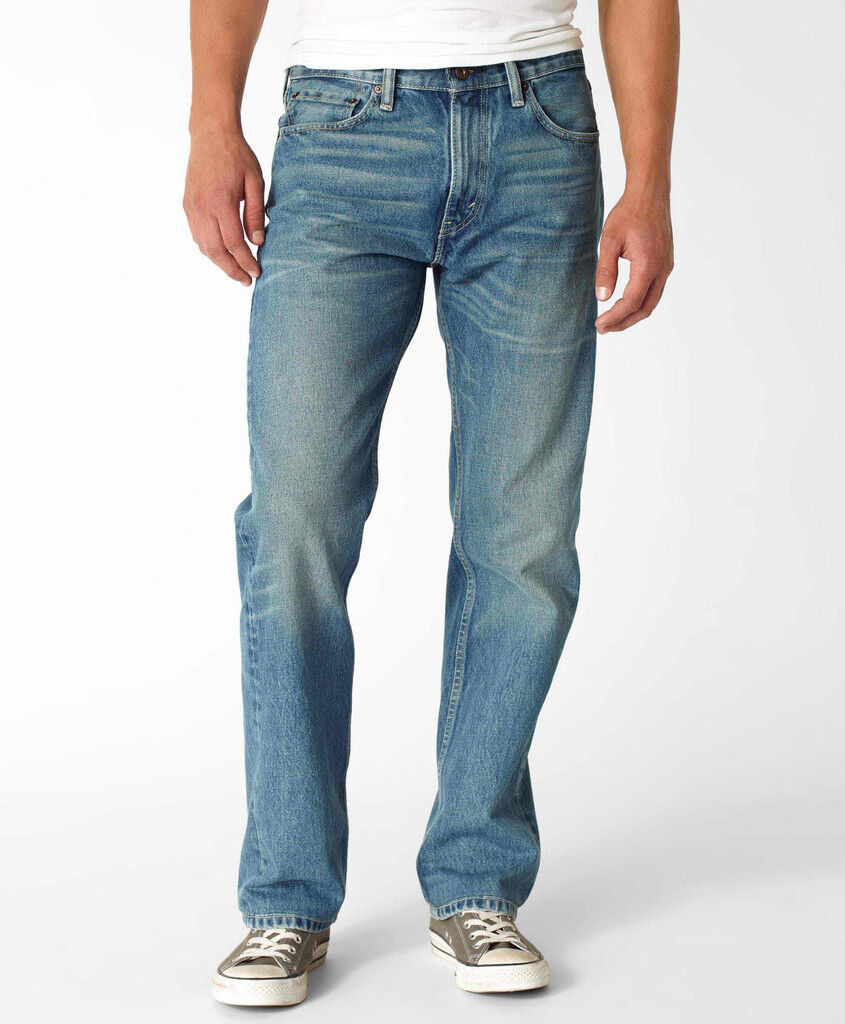 NWT STRAIGHT FIT Mens LEVIS 505 0519 Blue Jeans 30 32 33 34 36 Waist