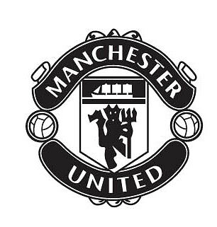 various colors) Manchester United Decor Mural Art Car Sticker Decal