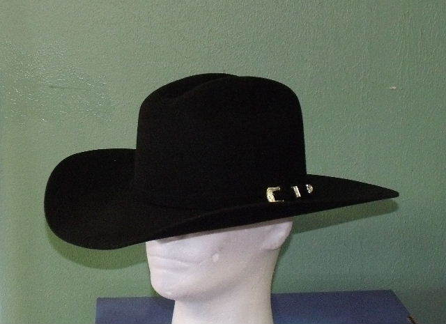 e38ecc43786 STETSON 2XX BLACK WOOL OAK RIDGE COWBOY WESTERN HAT on PopScreen
