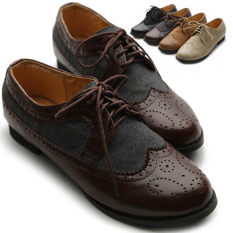 Oxford Shoes Womens - 28 Images - Brogue Wingtips Lace Up Flat Oxford Shoes 1000 Ideas About S ...