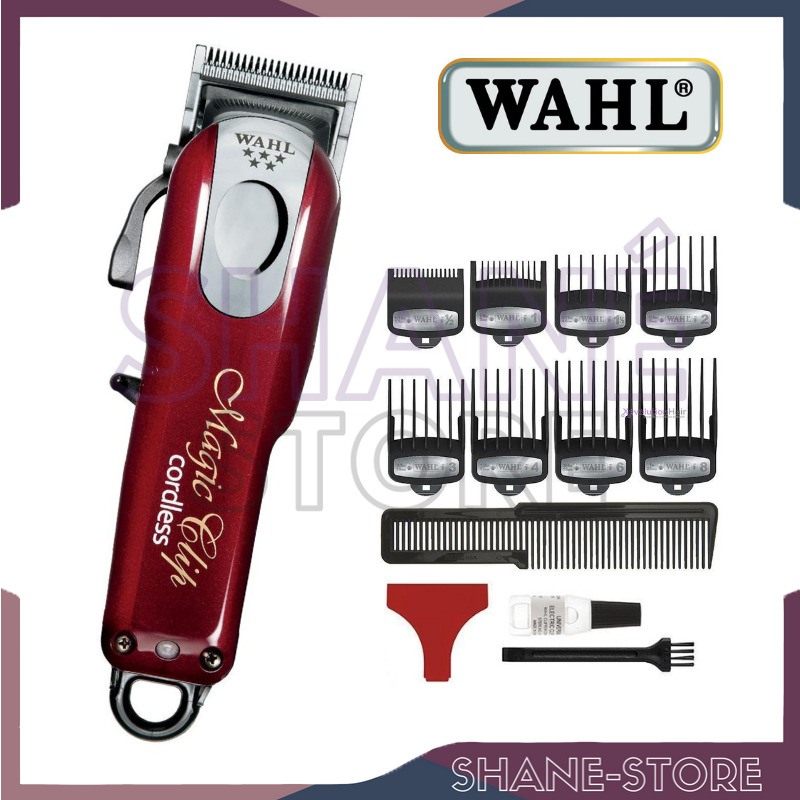 Wahl magic clip cordless tagliacapelli 5 stars series tosatrice made u s a 