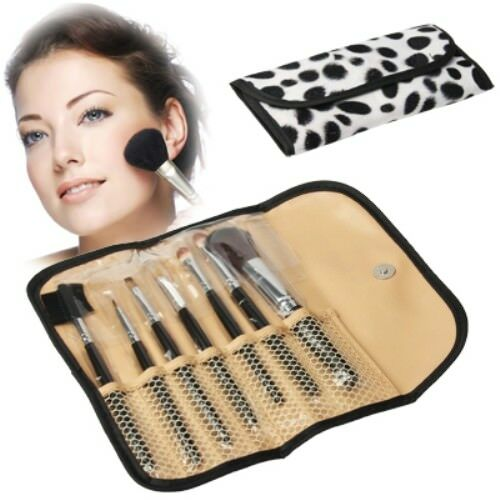 Pennelli professionali trucco set 7 pz make up makeup brushes donna cos 09 