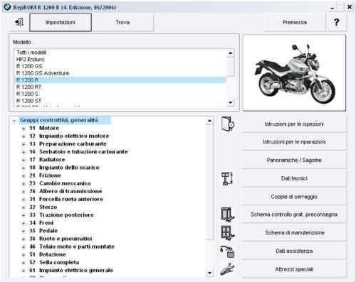Bmw r1200 gs r rt s st hp2 r900 manuale officina reprom Prezzo: € 6,19