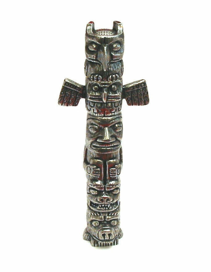 Thimble totem pole six pewter collectible thimbles unique mother s day gift new Prezzo: € 32,25