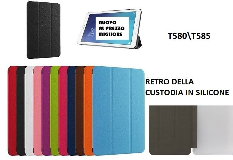 Smart cover slim samsung galaxy tab a 10 1 2016 t580t585 custodia tablet mnt 