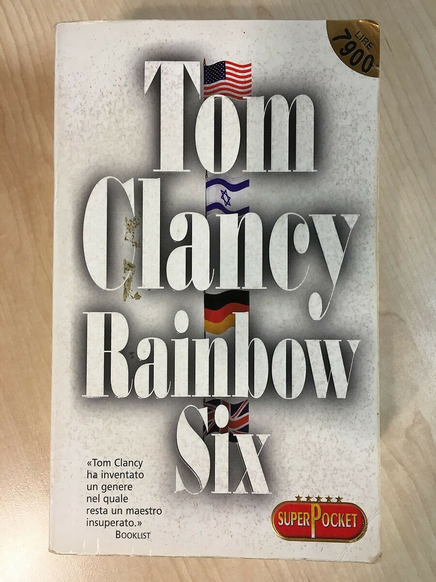 75922 tom clancy rainbow six superpocket 2001 