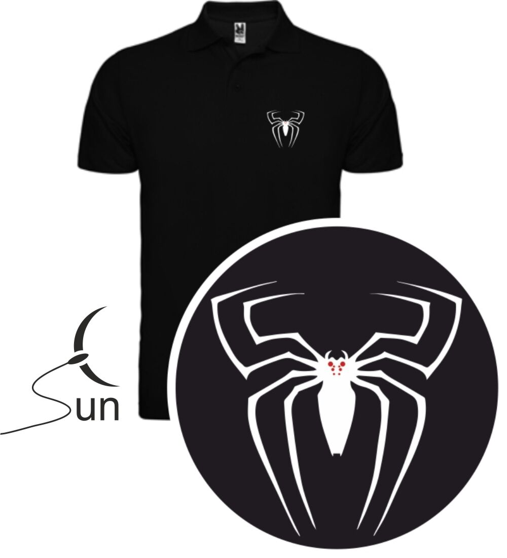 T shirt polo t shirt spiderman venom fumetti super eroi marvel vs sil ccs001p 