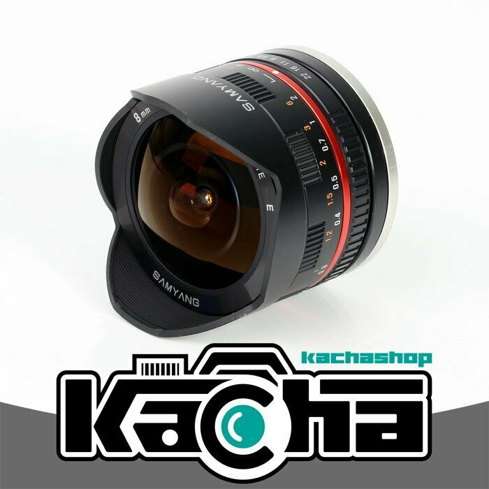 Nuovo samyang 8mm f 2 8 umc fish eye lens ii for sony e mount 