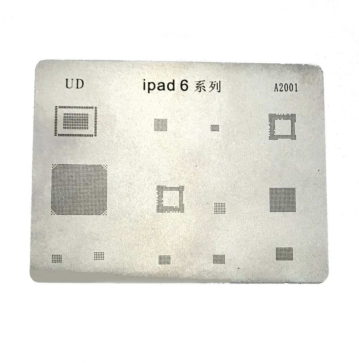 Mobile phone rework repair bga reballing stencils per ipad air 2 riparazione 