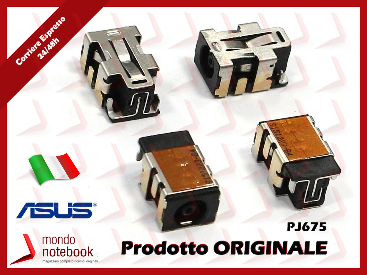 Connettore alimentazione dc power jack per notebook asus n501vw 