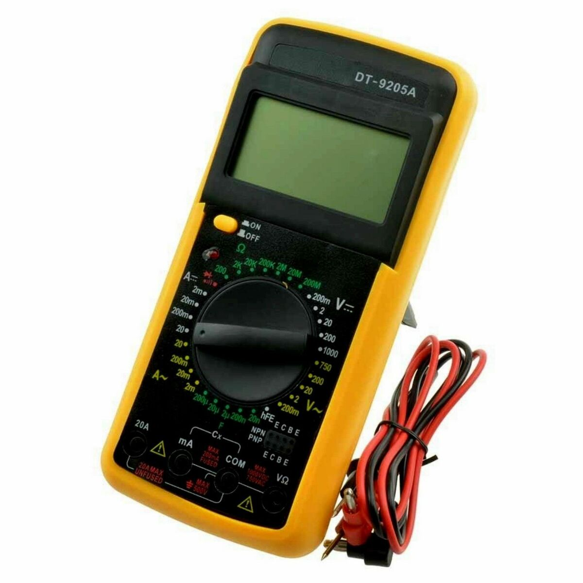 Tester digitale multimetro multimeter professionale new 
