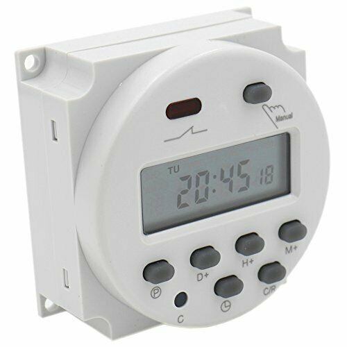 Interruttore digitale con display lcd e timer programmabile ac 220v 240v 16a 