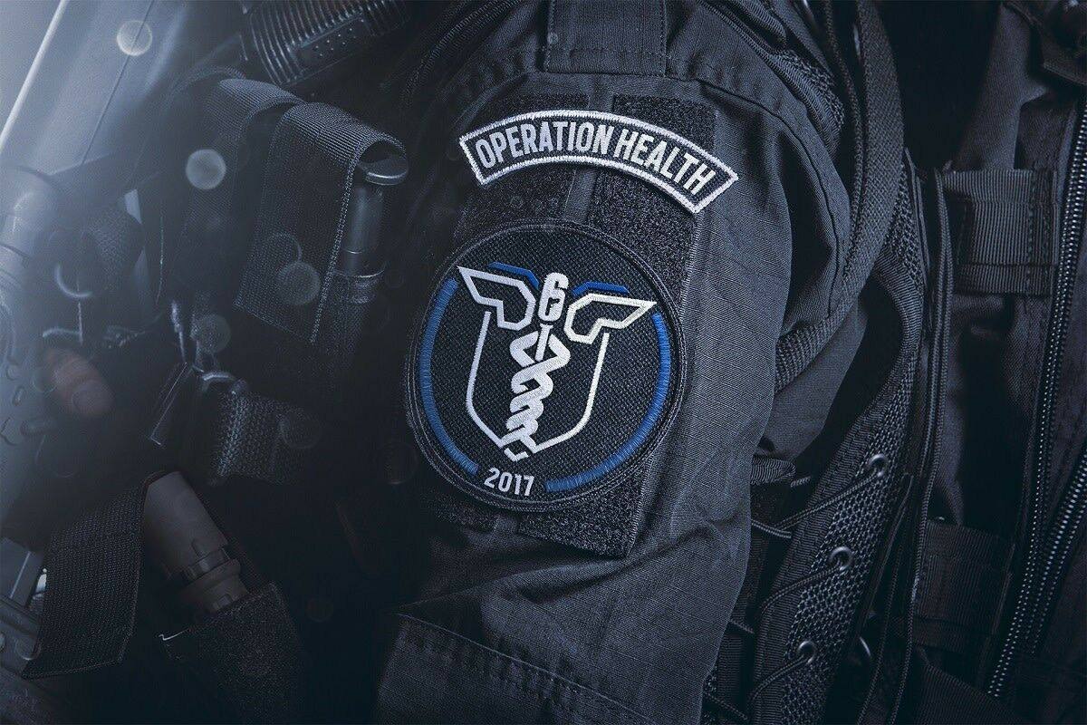 Patch toppa rainbow six delta force navy seal special airsoft softair medic Prezzo: € 4,60