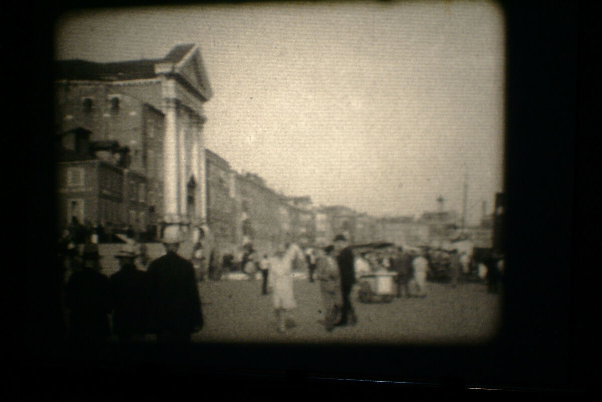 Film 16mm home movie 1929 roma firenze venezia milano bn 120mt 