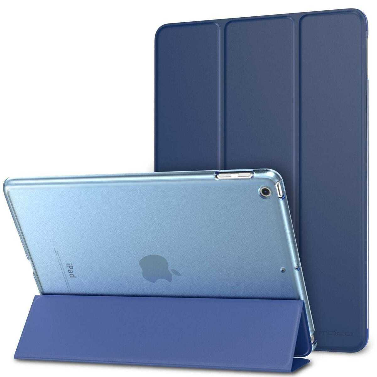 Smart cover integrale custodia supporto per apple ipad 9 7 2018 blu 