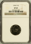 1994 P JEFFERSON NICKEL | NGC SP69 | PROOF | BIN  RC9470.E4
