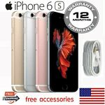 Apple iPhone 6S 16/32/64/128GB A1688 Unlocked Verizon +GSM Dual-core Smartphone