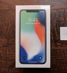 NEW Apple iPhone X 10 - 256GB - WHITE SILVER (WORLDWIDE FACTORY Unlocked Phone)