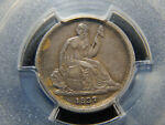 1837 10C SEATED LIBERTY DIME NO STARS SMALL DATE XF 40 PCGS/CAC ORIGINAL