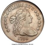1798 DRAPED BUST SMALL EAGLE SILVER DOLLAR B 1 BB 82,R. 3 NGC XF40