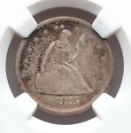1875 S NGC VF25 20C TWENTY CENT PIECE FINE TYPE COIN 140 YEARS OLD