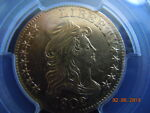 1802/1 DRAPED BUST 5.00 GOLD HALF EAGLE PCGS GRADED AU DETAILS  BEAUTIFUL COIN