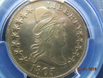 1803 DRAPED BUST 10.00 GOLD EAGLE PCGS AU DETAILS  LOW MINTAGE