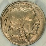 1913 S TYPE TWO BUFFALO NICKEL PCGS MS66 CAC
