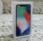 Apple iPhone X 256GB (Factory UNLOCKED) SILVER - SEALED NEW (In-Stock)
