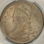 Us 1836 1839 Capped Bust Reeded Edge Half Dollar History
