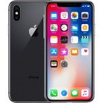Apple iPhone X - 256GB  Space Gray (AT&T LOCKED) A1901  A  GRADE