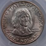 1934 MARYLAND COMMEMORATIVE HALF DOLLAR PCGS MS 64 GREAT CORSUCATING LUSTER
