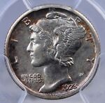 1923 S MERCURY DIME PCGS AU 58 NICE AND ORIGINAL AND A MUCH BETTER DATE