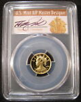 2018 W $10 GOLD LIBERTY PCGS PR70 FIRST DAY 1 OF  EAGLE HIGH RELIEF CLEVELAND