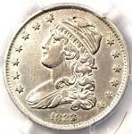 1833 CAPPED BUST QUARTER 25C   PCGS AU DETAILS    EARLY DATE COIN IN AU