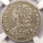 1836 CAPPED BUST QUARTER 25C   NGC VF25    EARLY DATE CERTIFIED COIN