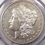 1895 O MORGAN SILVER DOLLAR $1   PCGS AU DETAILS    DATE CERTIFIED COIN