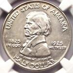 1925 VANCOUVER HALF DOLLAR 50C   NGC AU DETAILS    CERTIFIED COIN