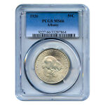 CERTIFIED EARLY COMMEMORATIVE 1936 ALBANY MS66 PCGS