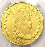 1805 CAPPED BUST GOLD HALF EAGLE $5   PCGS XF DETAILS EF    GOLD COIN
