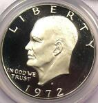 1972 S PROOF DOUBLED DIE DDO FS 101 EISENHOWER IKE DOLLAR $1  PCGS PR68 DCAM