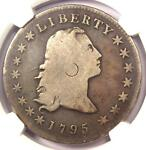 1795 FLOWING HAIR SILVER DOLLAR  $1 COIN  BB 27 B 5   NGC VG DETAIL    COIN