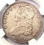 1836 CAPPED BUST HALF DOLLAR 50C O 111   NGC AU DETAILS    CERTIFIED COIN