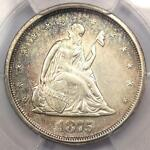 1875 S TWENTY CENT PIECE 20C   PCGS AU DETAILS    CERTIFIED TYPE COIN