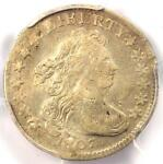 1807 DRAPED BUST DIME 10C COIN   CERTIFIED PCGS VF DETAILS    DATE