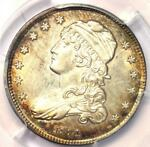 1831 CAPPED BUST QUARTER 25C   CERTIFIED PCGS UNCIRCULATED DETAILS  UNC MS