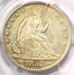 1853 O ARROWS & RAYS SEATED LIBERTY HALF DOLLAR 50C   PCGS AU50   $1 000 VALUE