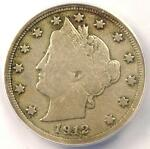 1912 S LIBERTY NICKEL 5C   ANACS F15 DETAILS    KEY DATE CERTIFIED COIN